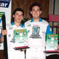 Premiação campeão de sinuca