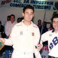 Premiação campeonato de sinuca 98