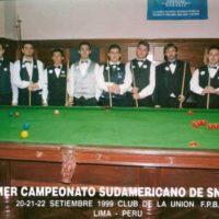 Noel campeão Sula-Americano de sinuca