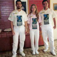 Paranaenses no campeonato Brasileiro de sinuca: Noel, Maria e Dauam