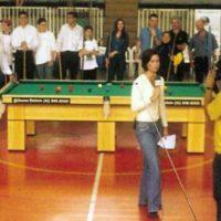 Desafio de sinuca Globo Esporte