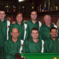Equipe de sinuca do Clube Curitibano