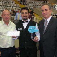 Campeão Paranaense Individual no Palácio de Cristal do Círculo Militar do Paraná – Curitiba – PR