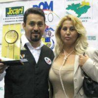 Vice-Campeão Brasileiro no Palácio de Cristal do Círculo Militar do Paraná – Curitiba – PR