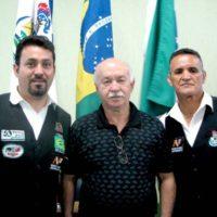 Campeonato Paranaense de sinuca com Noel, Dilson Nunes e Paulo Paraná