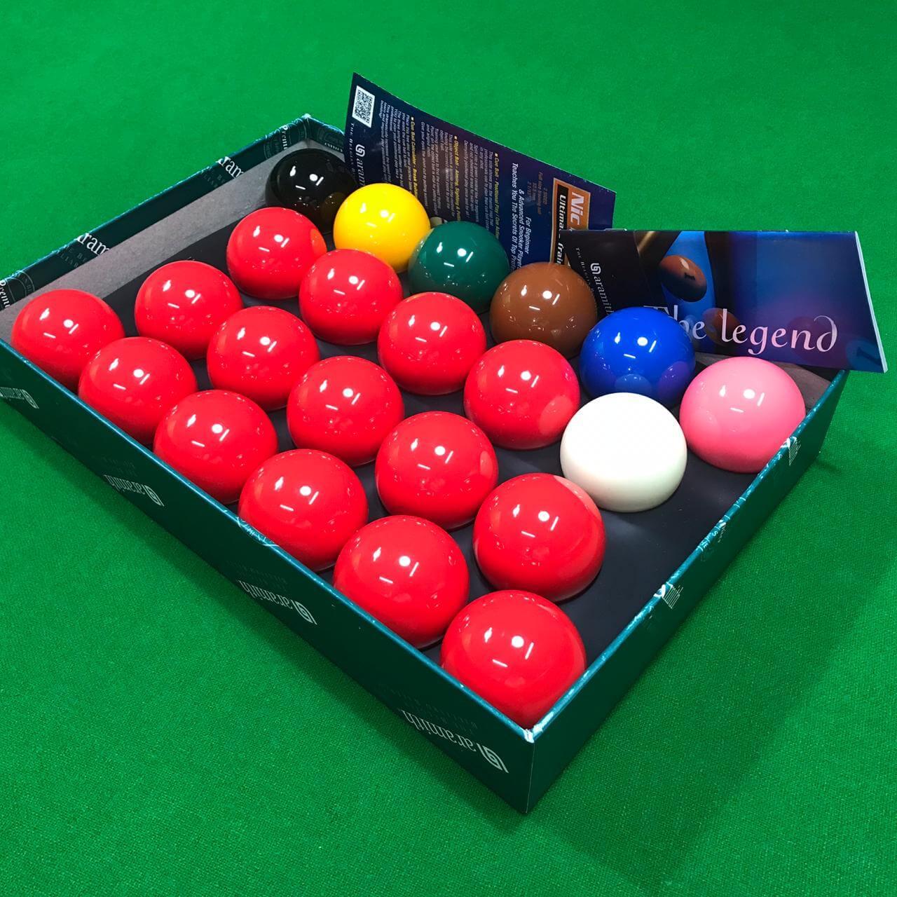 Jogo de bola Aramith premier 52,4 com 22 bolas