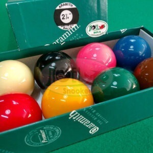 jogo de bolas Aramith com 8 bolas de sinuca