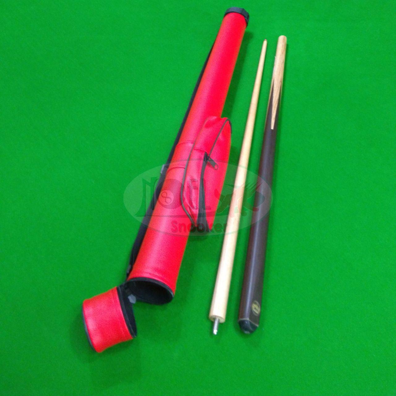 Capa tubo importada para taco de sinuca com rosca no meio