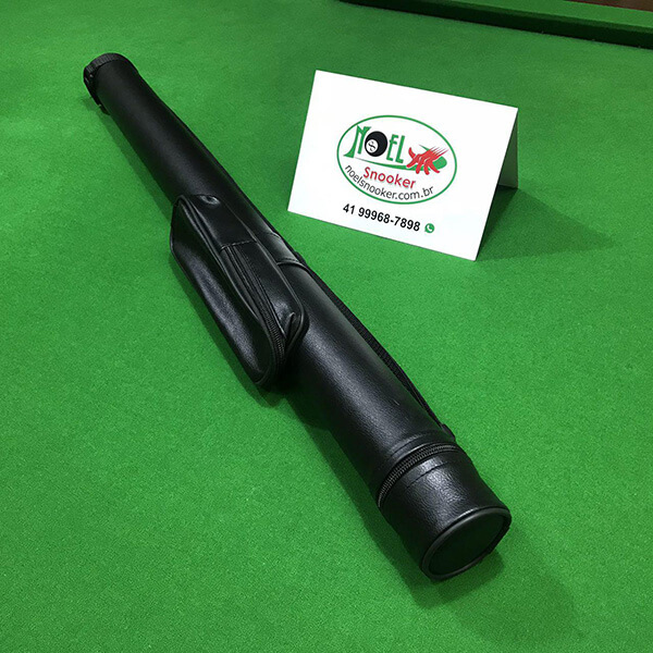 Capa tubo para taco de sinuca