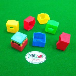 Porta giz de silicone colorido