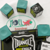 giz de sinuca triangle importado