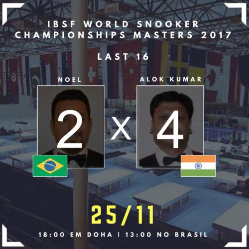 resultado 16 finalistas mndial de snooker em doha no qatar