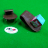 porta giz de sinuca de couro marrom omin (2)