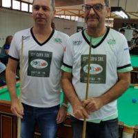 Adriano e Eladio (Vaca) 17ª Copa Sul Noel Snooker