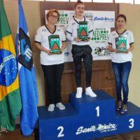 Premiação categoria feminina da 17ª Copa Sul de Snooker