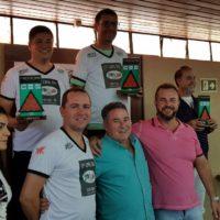 Atletas de sinuca na 17ª Copa Sul Noel Snooker