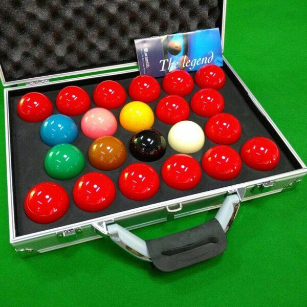 Jogo De Snooker Importado Especial Com 22 Bolas Aramith Tournament Champion + Maleta