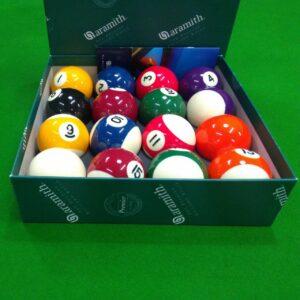 caixa de jogo de bola 8 Aramith de 52,4mm