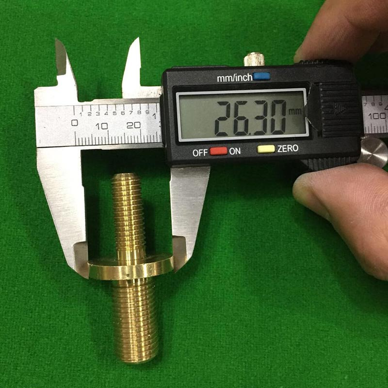 joint de 26.3 mm para encaixe de taco de snooker 3/4