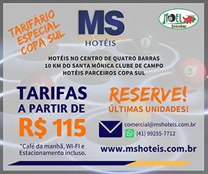 Ms Hoteis em Curitiba