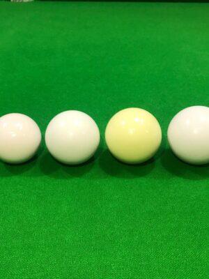 Bola branca e bolão 50- 54- 56 e 58mm