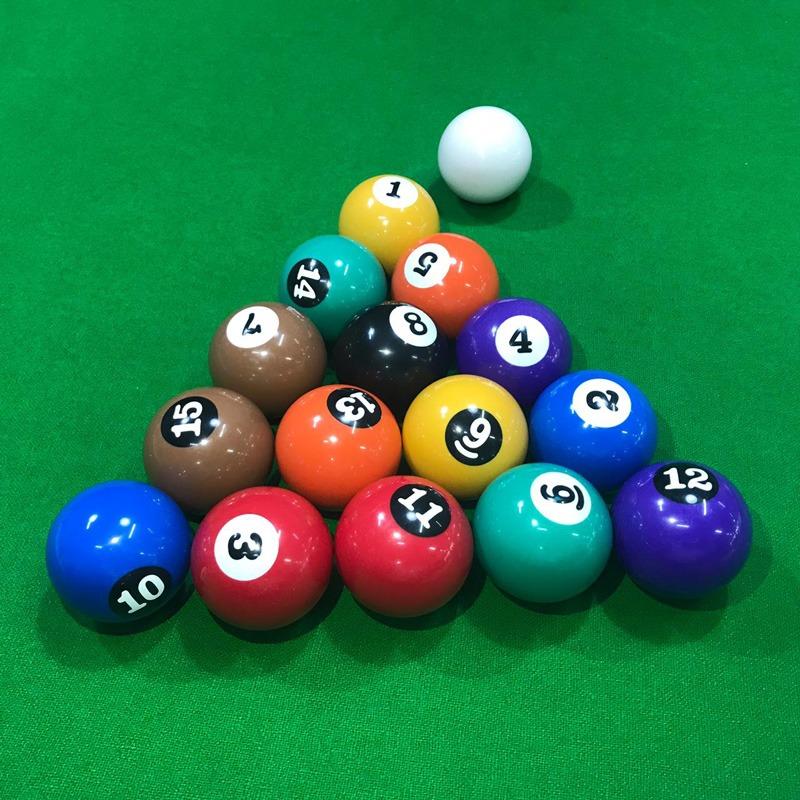 Jogo de bola de sinuca Nacional numerada